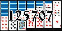 Пасьянс №125707