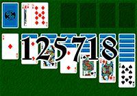 Пасьянс №125718