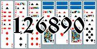 Пасьянс №126890