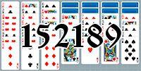 Пасьянс №152189