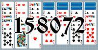 Пасьянс №158072
