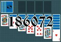 Пасьянс №186072