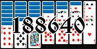 Пасьянс №188640