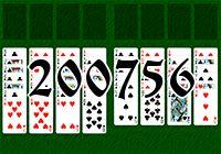 Пасьянс №200756
