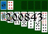 Пасьянс №200843