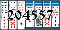 Пасьянс №204557