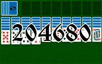 Пасьянс №204680