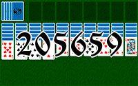 Пасьянс №205659
