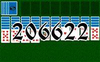 Пасьянс №206622