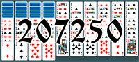 Пасьянс №207250