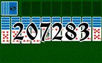 Пасьянс №207283
