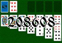 Пасьянс №208608