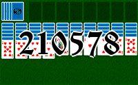 Пасьянс №210578