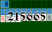 Пасьянс №215665