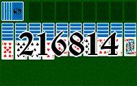 Пасьянс №216814