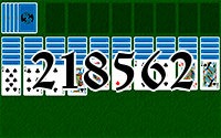 Пасьянс №218562