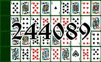 Пасьянс №244089