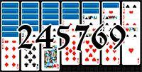 Пасьянс №245769