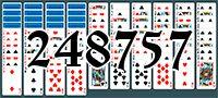 Пасьянс №248757