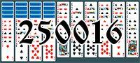 Пасьянс №250016