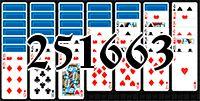 Пасьянс №251663