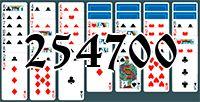 Пасьянс №254700