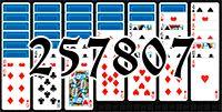 Пасьянс №257807