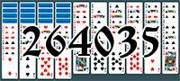 Пасьянс №264035