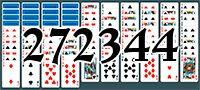 Пасьянс №272344