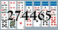 Пасьянс №274465