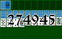 Пасьянс №274945