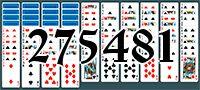 Пасьянс №275481