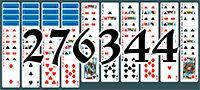 Пасьянс №276344
