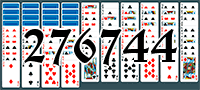 Пасьянс №276744