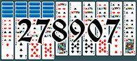 Пасьянс №278907