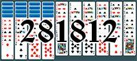 Пасьянс №281812