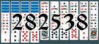 Пасьянс №282538