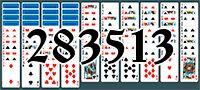 Пасьянс №283513