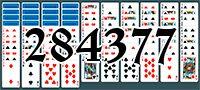 Пасьянс №284377
