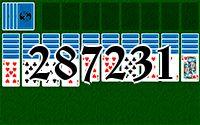Пасьянс №287231
