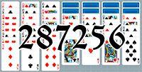 Пасьянс №287256
