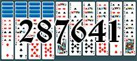 Пасьянс №287641