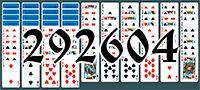 Пасьянс №292604