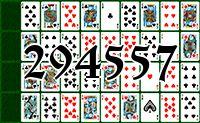 Пасьянс №294557