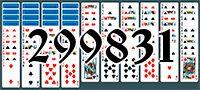 Пасьянс №299831