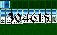 Пасьянс №304615
