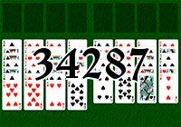 Пасьянс №34287