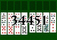 Пасьянс №34451