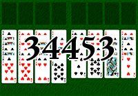 Пасьянс №34453