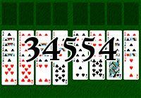Пасьянс №34554